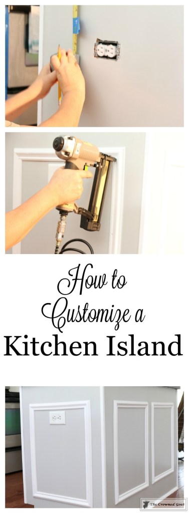 How-to-Customize-a-Kitchen-Island-11-377x1024 How to Customize a Kitchen Island on a Budget DIY Painted Furniture