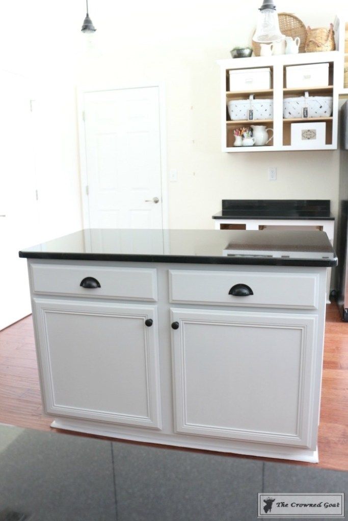 Seagull Gray Kitchen Island-17
