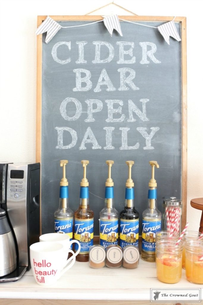 Simple-Tips-for-a-Fall-Cider-Bar-4-683x1024 Simple Tips for a Fall Cider Bar DIY Fall Holidays