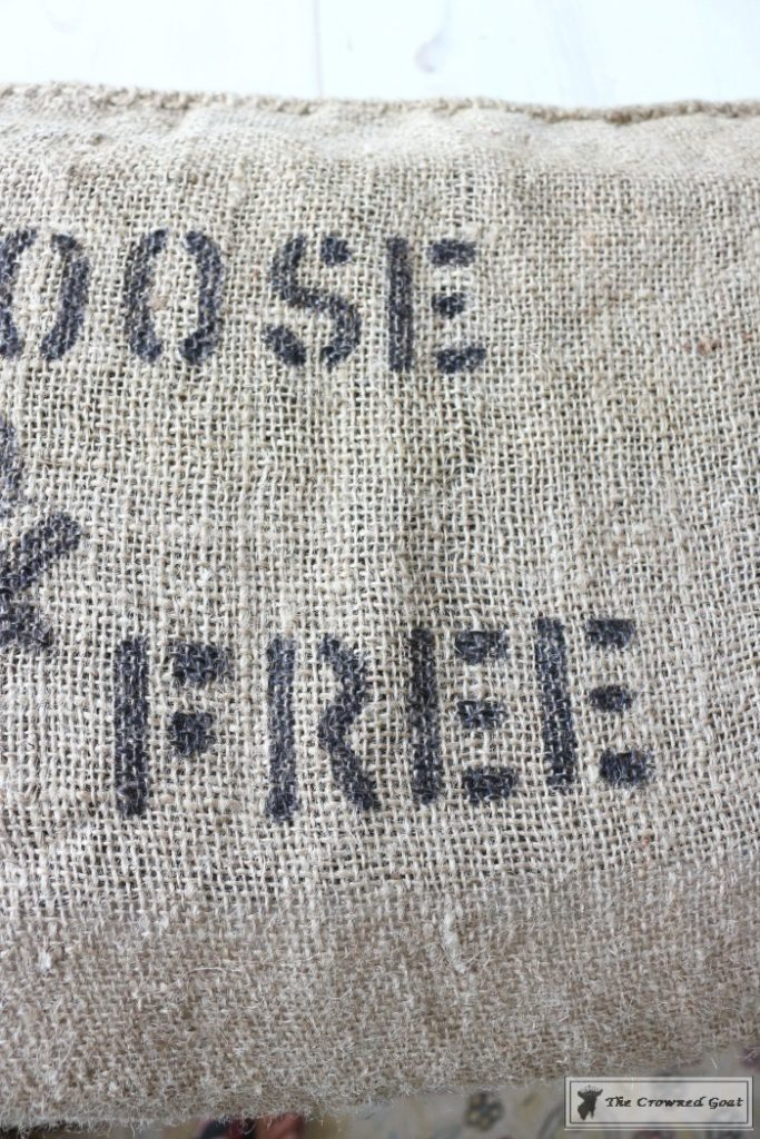Fall-Feed-Sack-Pillow-9-683x1024 Stenciled Feed Sack Pillow Covers Uncategorized