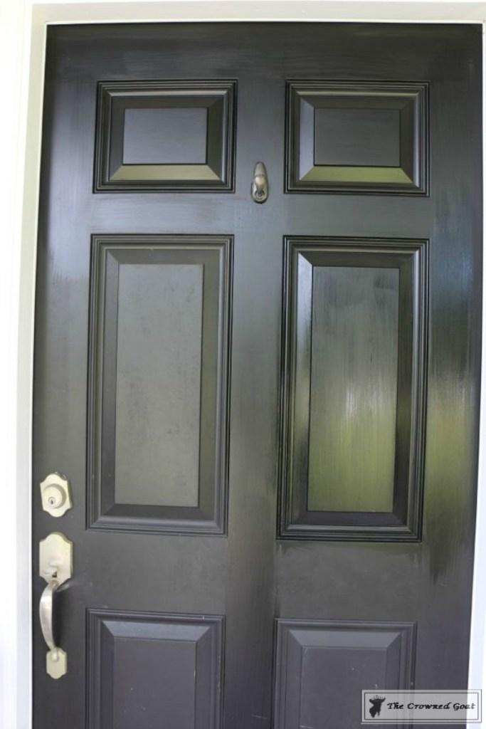 Front-Door-Paint-Review-3-683x1024 Modern Masters Front Door Paint: One Year Later DIY