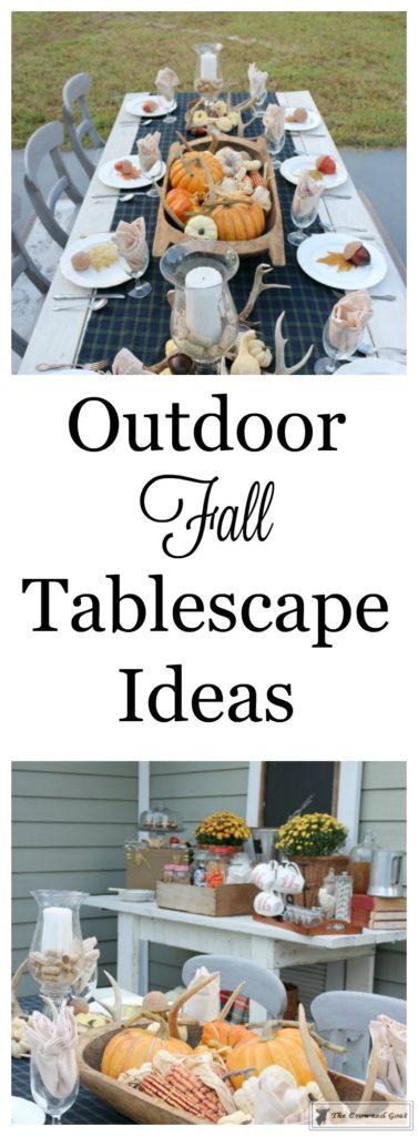 Outdoor-Fall-Tablescape-1-377x1024 Outdoor Fall Tablescape Decorating DIY Fall Holidays