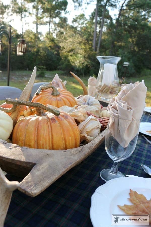 Outdoor-Fall-Tablescape-12 Outdoor Fall Tablescape Decorating DIY Fall Holidays