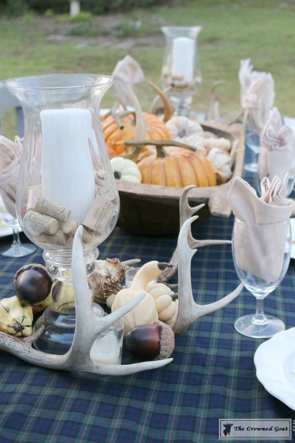 Outdoor-Fall-Tablescape-3 Outdoor Fall Tablescape Decorating DIY Fall Holidays