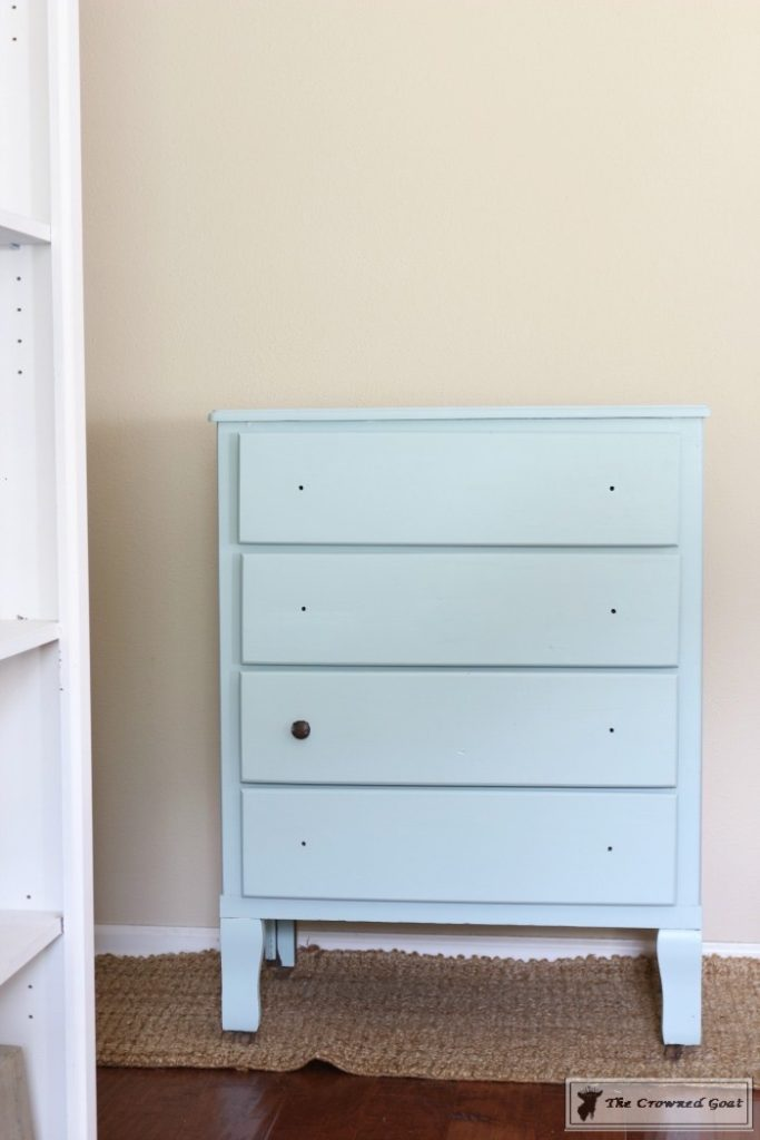 Seaglass-Dresser-Makeover-4-683x1024 Coastal Dresser Makeover DIY Painted Furniture