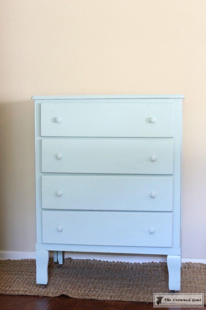 Seaglass-Dresser-Makeover-5-683x1024 Coastal Dresser Makeover DIY Painted Furniture