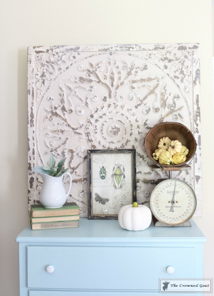 Seaglass-Dresser-Makeover-7 Coastal Dresser Makeover DIY Painted Furniture