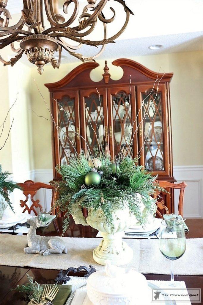 Bliss-Barracks-Traditional-Christmas-Dining-Room-3-683x1024 Traditional Christmas Dining Room at Bliss Barracks Christmas DIY Holidays