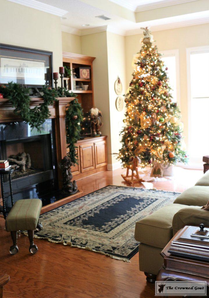 Bliss-Barracks-Traditional-Christmas-Tree-Living-Room-10-719x1024 Traditional Christmas Living Room at Bliss Barracks Christmas DIY Holidays