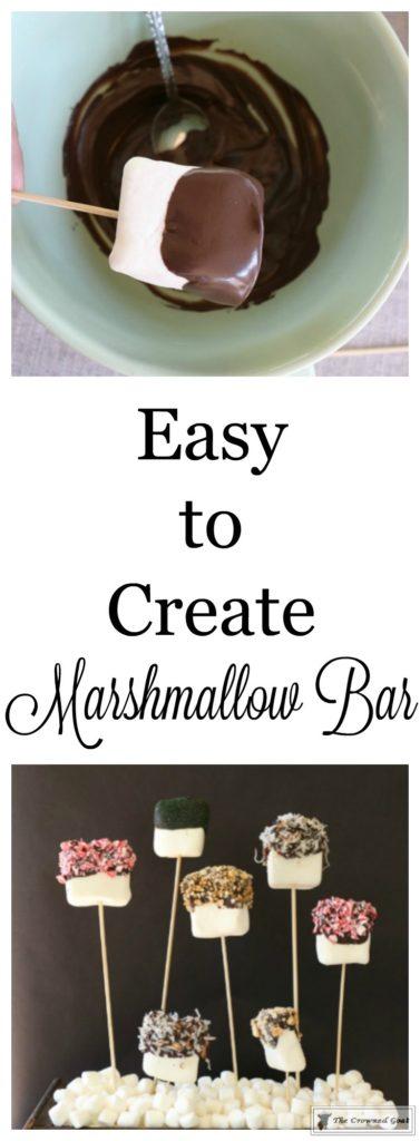 Easy-Marshmallow-Bar-1-377x1024 Easy Marshmallow Bar Christmas DIY Holidays