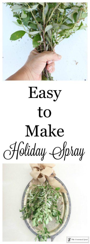 Easy-to-Make-Holiday-Spray-1-377x1024 Creating a Simple Holiday Spray Christmas DIY Holidays