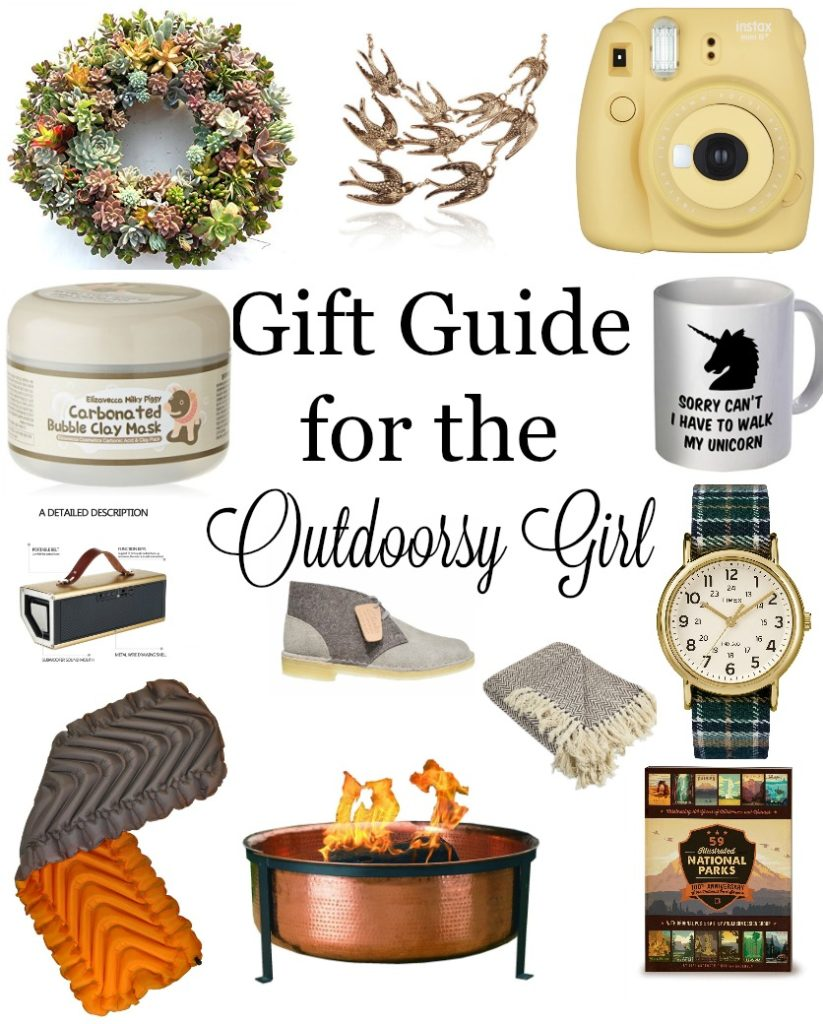 Gift-Guide-for-the-Outdoorsy-Girl-823x1024 2016 Holiday Gift Guide Christmas DIY Holidays