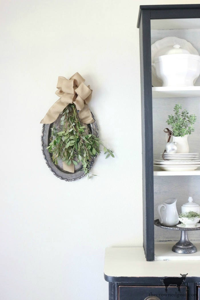 How-to-Create-a-Holiday-Greenery-Spray-The-Crowned-Goat-15 Creating a Simple Holiday Spray Christmas Holidays