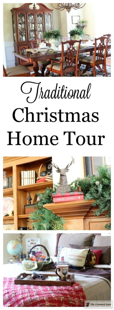 Traditional-Christmas-Home-Tour-1-377x1024 Traditional Christmas Home Tour at Bliss Barracks Christmas DIY Holidays