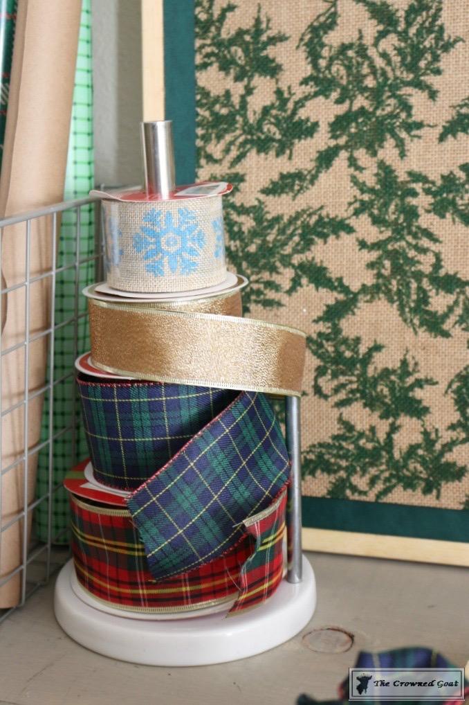 Holiday-Gift-Wrap-Station-3 Holiday Gift Wrapping Station Christmas DIY Holidays