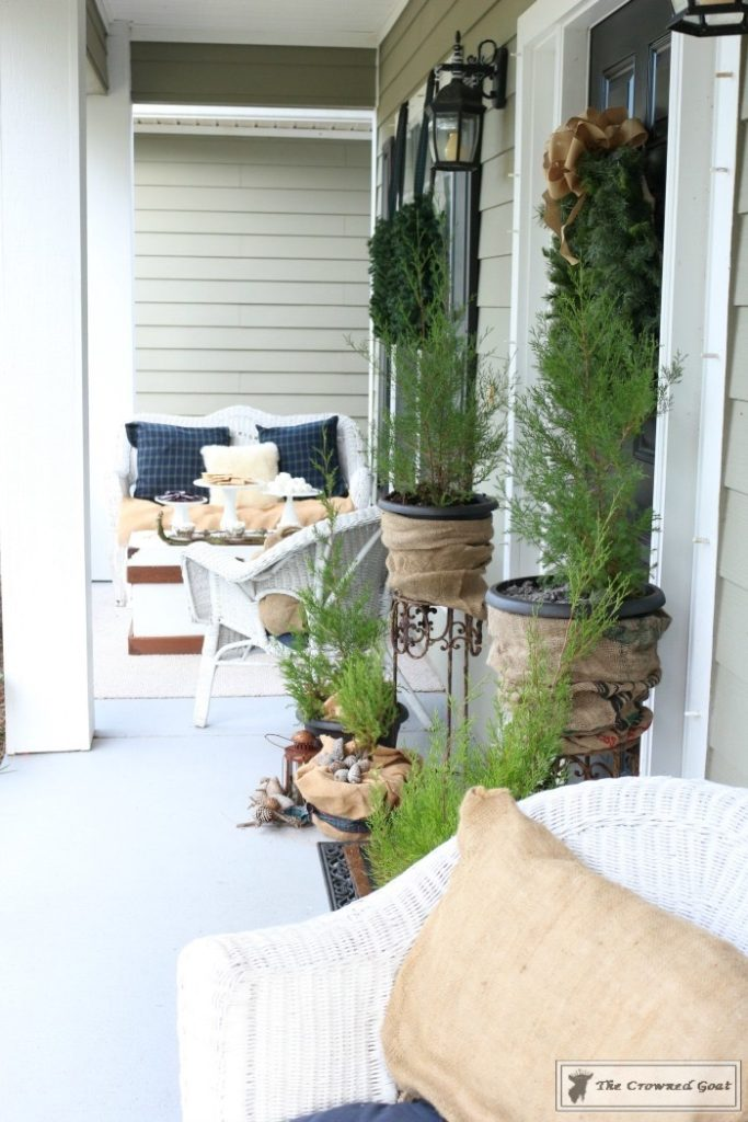 Nature-Inspired-Christmas-Front-Porch-3-683x1024 Nature Inspired Christmas Home Tour Christmas Decorating DIY Holidays