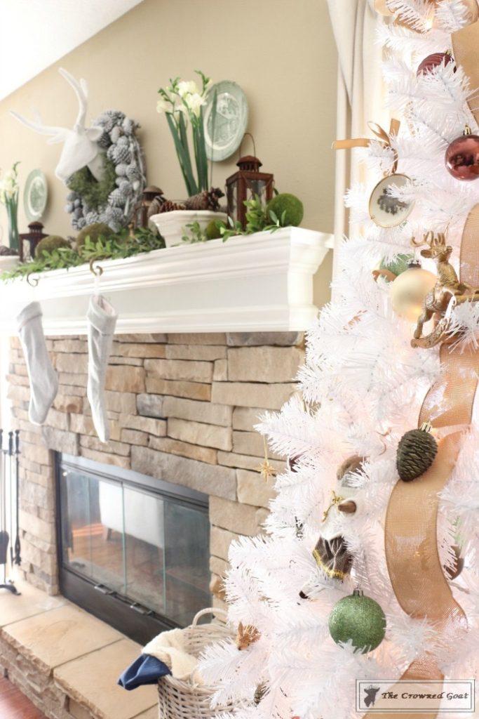 Nature-Inspired-Christmas-Tree-10-683x1024 Nature Inspired Mantel and Christmas Tree Christmas Decorating DIY Holidays
