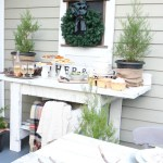 Rustic New Year's Tablescape