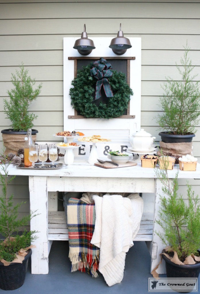 Rustic-New-Years-Tablescape-8-1-697x1024 Rustic New Year's Tablescape Christmas DIY Holidays
