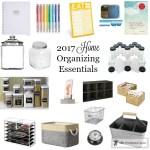 2017-Home-Organizing-Essentials-1 Organization