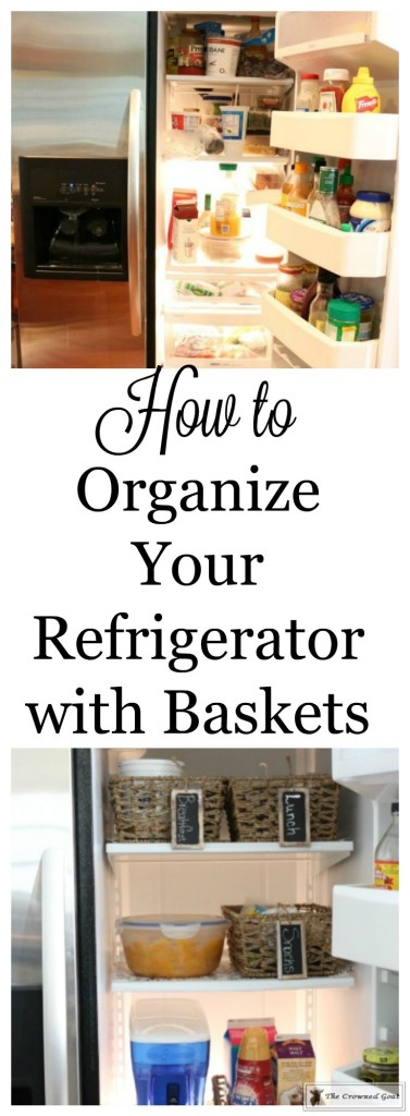 Organize-Your-Refrigerator-with-Baskets-1-377x1024 How to Use Baskets to Organize Your Refrigerator Organization