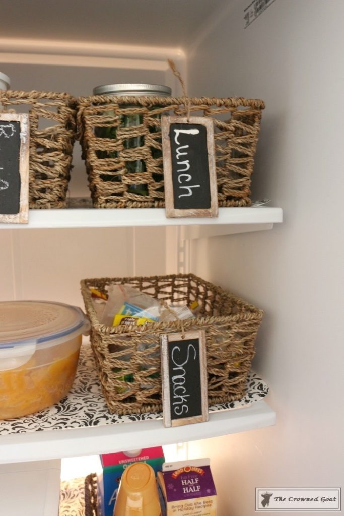 Organize-Your-Refrigerator-with-Baskets-9-683x1024 How to Use Baskets to Organize Your Refrigerator Organization