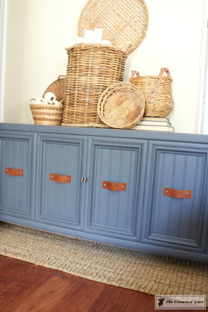 Cottage-Console-to-Boho-Chic-Media-Cabinet-Makeover-12-683x1024 Boho Chic Inspired Media Cabinet Makeover Decorating DIY