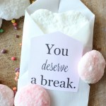 DIY Valentine Inspired Bath Bombs & Free Printable