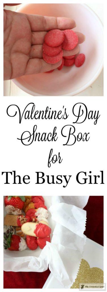 Easy-Valentine-Snack-Box-1-377x1024 The Busy Girl's Valentine's Day Snack Box DIY Holidays