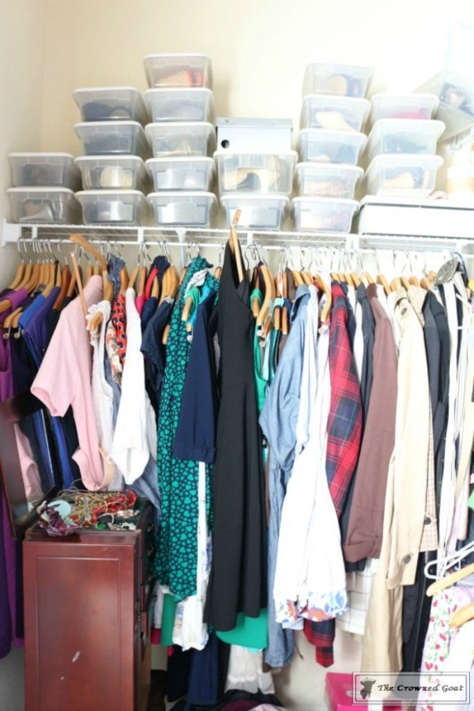 KonMari-Closet-One-Year-Later-1-683x1024 My Closet - One Year After Using the KonMari Method DIY Uncategorized