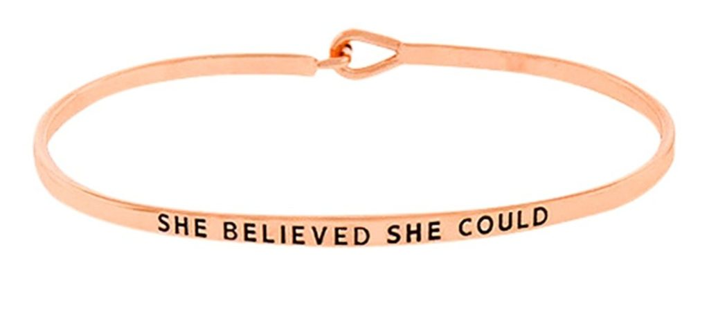 She-Believed-She-Could-Bracelet-2-1024x477 Valentine Gift Ideas for The Busy Girl DIY Holidays