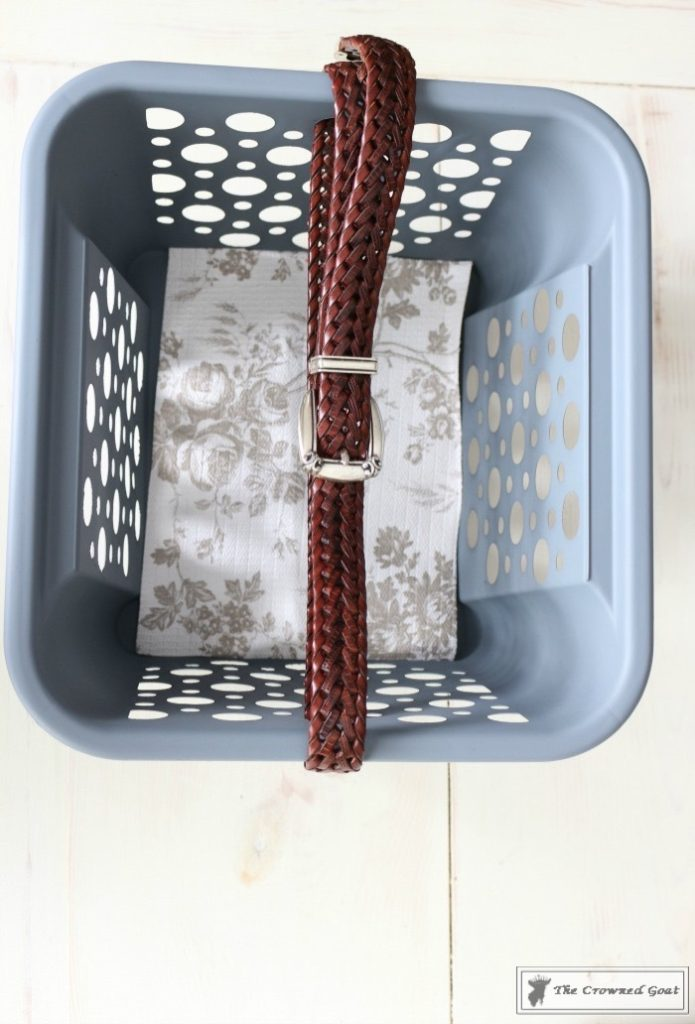 DIY Cleaning Caddy-The Crowned Goat-11