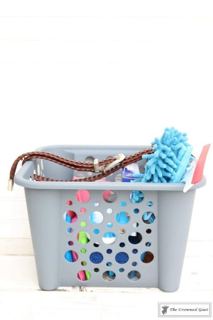 DIY-Cleaning-Caddy-The-Crowned-Goat-16-683x1024 How to Create a Budget Friendly Cleaning Caddy DIY Organization