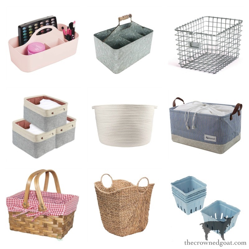 Easter-Basket-and-Container-Ideas-From-Amazon-The-Crowned-Goat-10 Farmhouse Easter Basket Ideas Holidays Spring