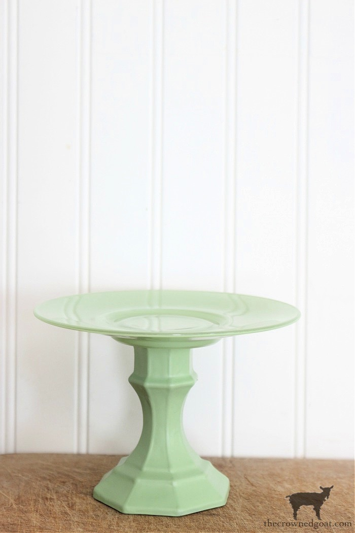 Faux-Jadeite-Cupcake-Stands-12-1 Jadeite Inspired Cupcake Stands Crafts DIY Holidays Spring