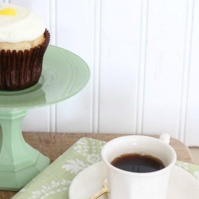 Jadeite Inspired Cupcake Stands