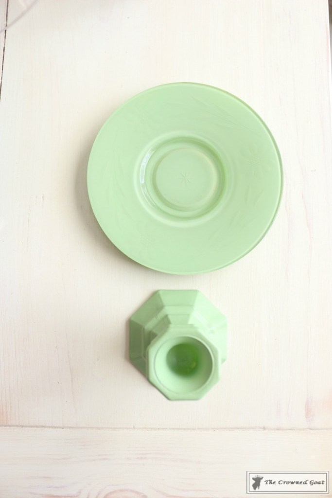Faux Jadeite Cupcake Stands-8