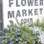 DIY Flower Market Sign