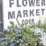 DIY Flower Market Sign