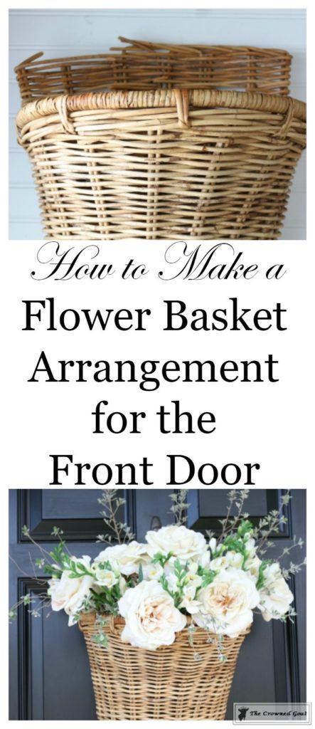 How To Make A Spring Flower Basket 1