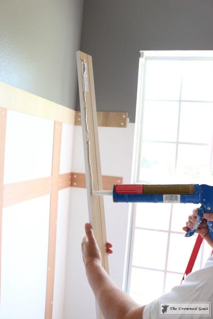 Budget-Friendly-Window-Trim-3-683x1024 A $30 Window Upgrade DIY One_Room_Challenge