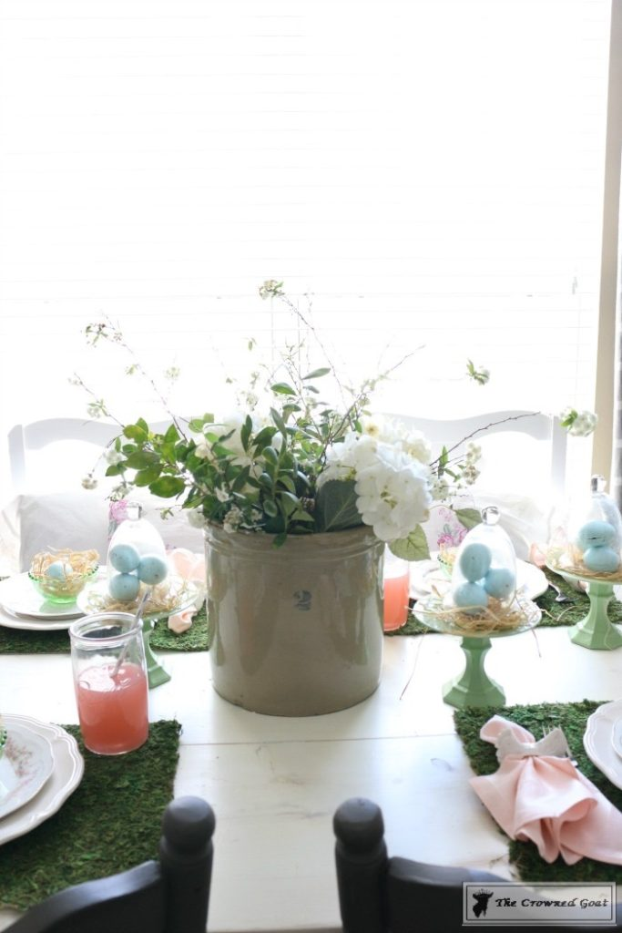 Colorful-Easter-Tablescape-13-683x1024 Colorful Easter Tablescape Decorating Holidays Spring