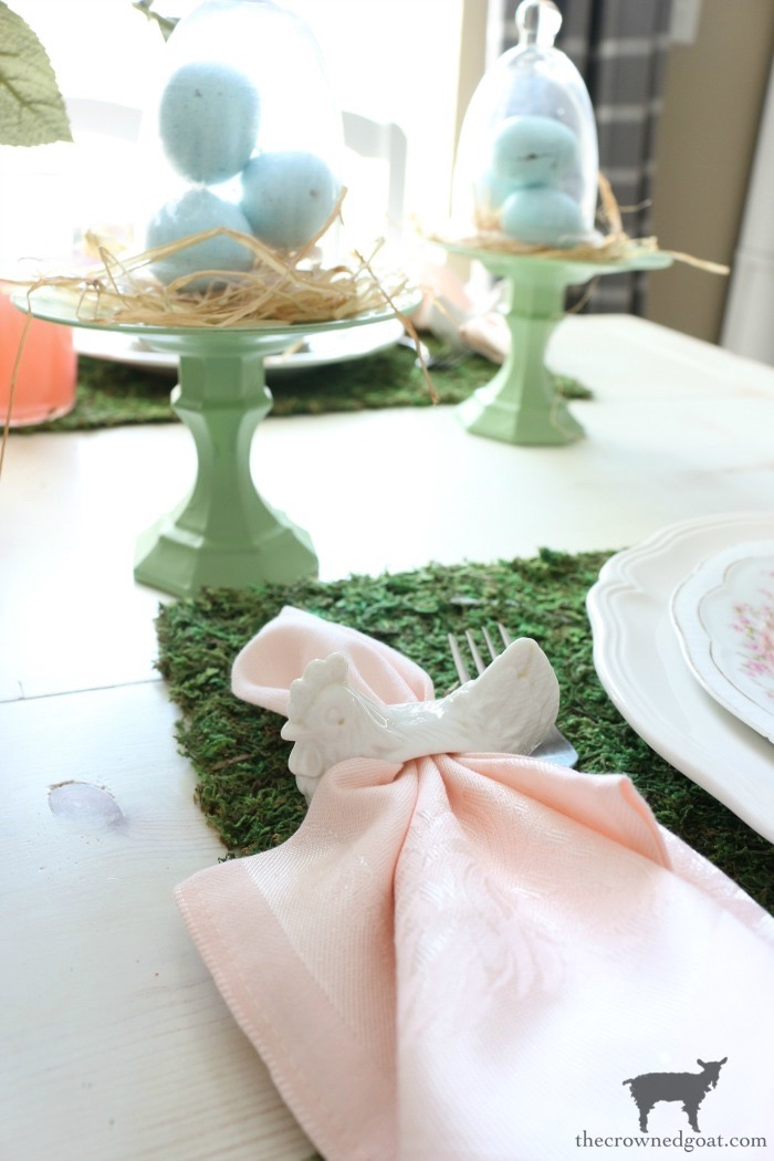 Colorful-Easter-Tablescape-9-1 Colorful Easter Tablescape Decorating Holidays Spring