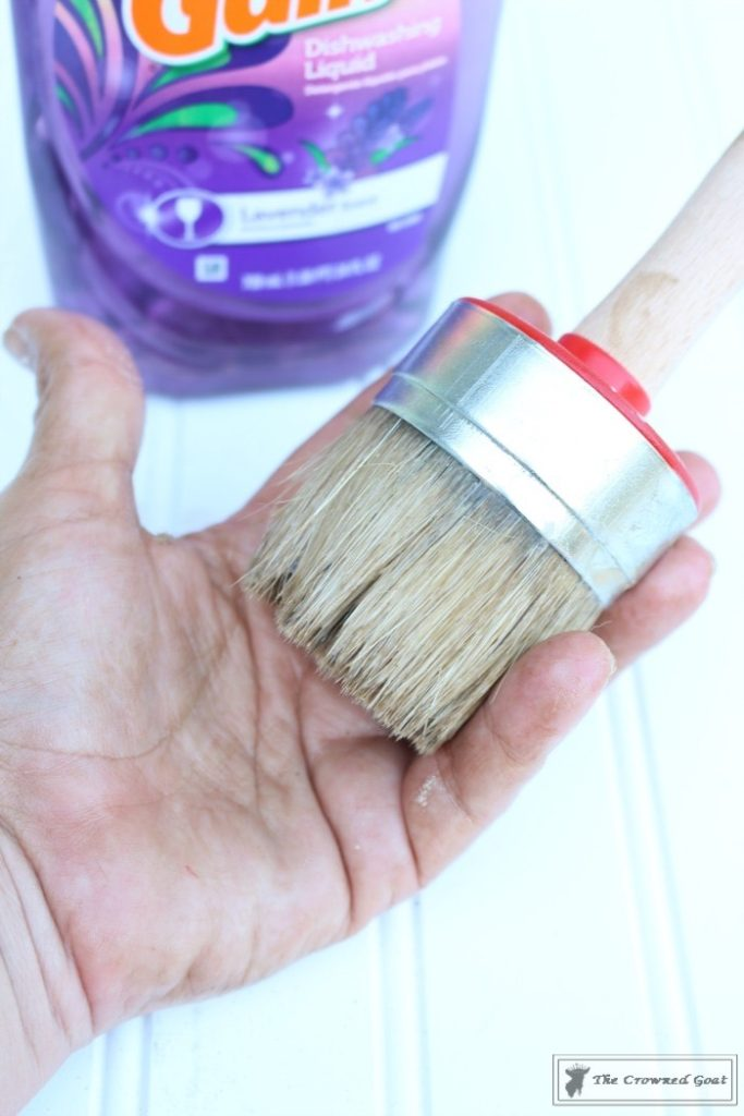 Easily-Clean-Wax-Brushes-6-683x1024 Cleaning Wax Brushes with Ease DIY Painted Furniture