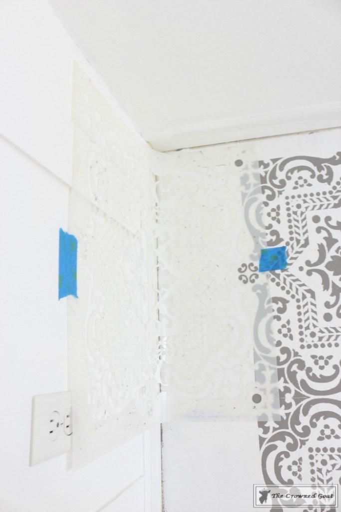 Easily Stencil a Concrete Floor-14