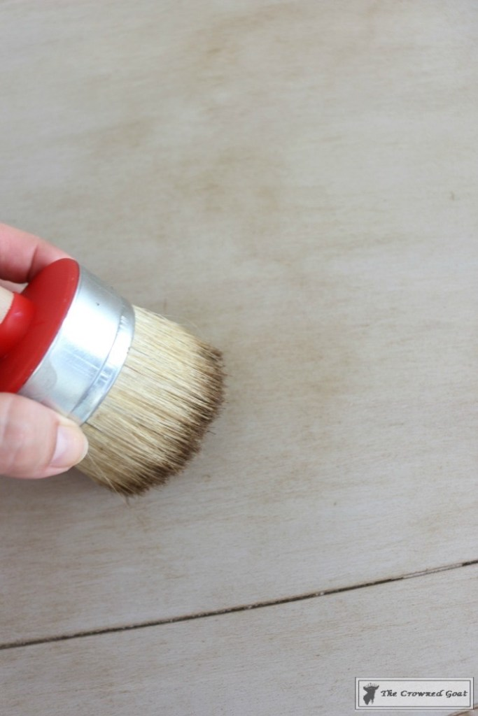 How-to-Weather-Furniture-with-Paint-9-683x1024 How to Give Furniture a Weathered Look with Paint DIY Painted Furniture