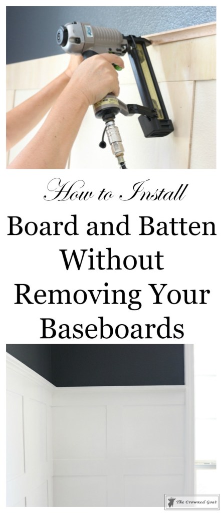 Installing Board and Batten-3