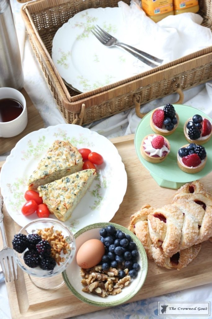 How-to-Create-a-Breakfast-in-Bed-Picnic-Basket-14-683x1024 Breakfast in Bed Picnic for Mother's Day Baking DIY Spring