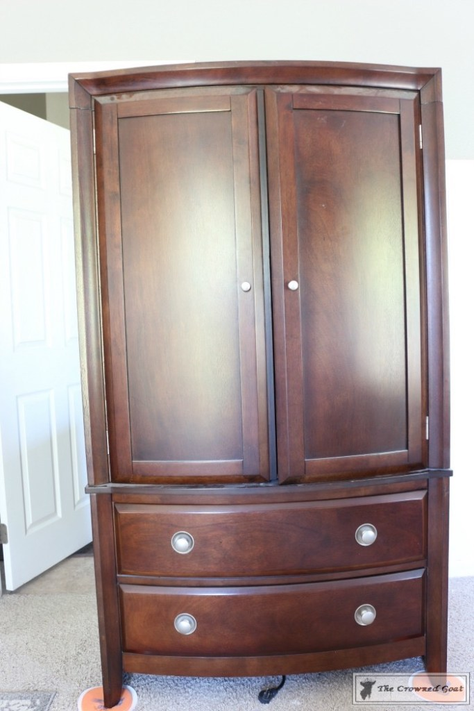 TV Armoire Makeover-3