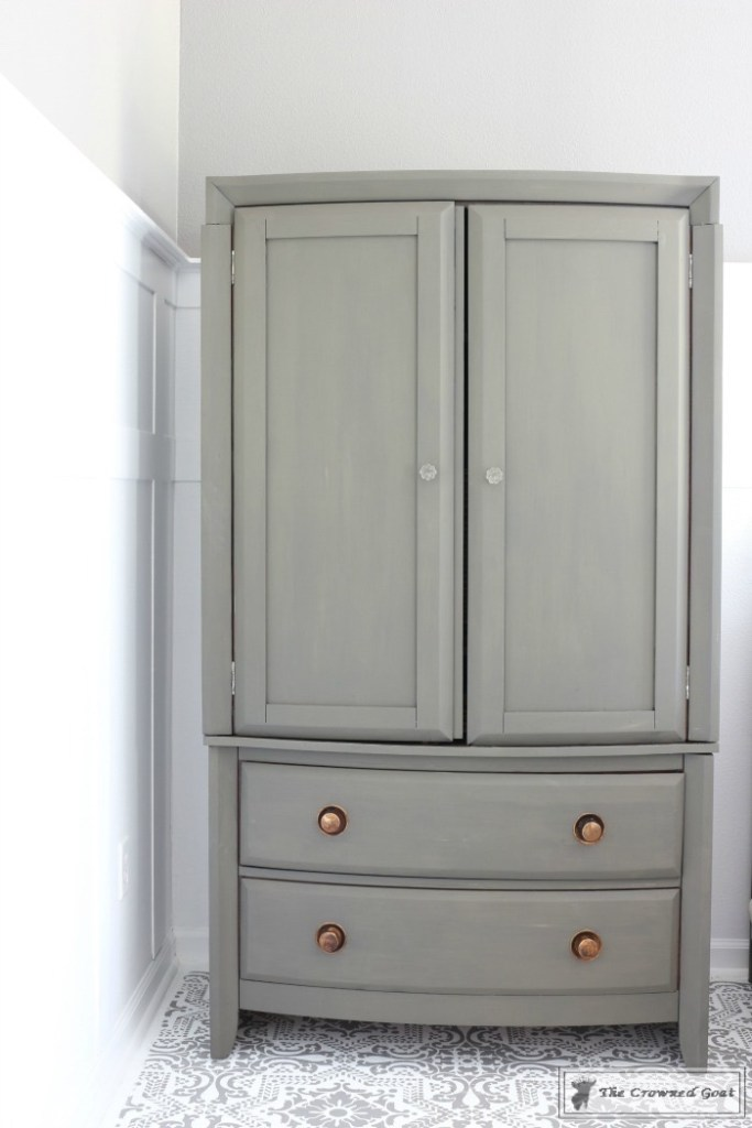 TV Armoire Makeover-4
